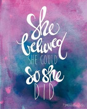 she-did